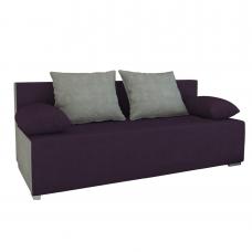 Разтегателен диван с ракла ANDOLI GALQ viol, С 2 броя големи и 2 броя подлакътни възглавници