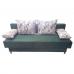 Разтегателен диван с ракла ANDOLI Mz zel, С 2 броя големи и 2 броя подлакътни възглавници