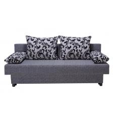 Разтегателен диван с ракла ANDOLI Mz Aroba bl, С 2 броя големи и 2 броя подлакътни възглавници
