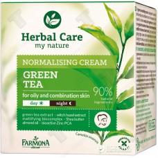Матиращ крем за мазна и смесена кожа със зелен чай Farmona Herbal Care
