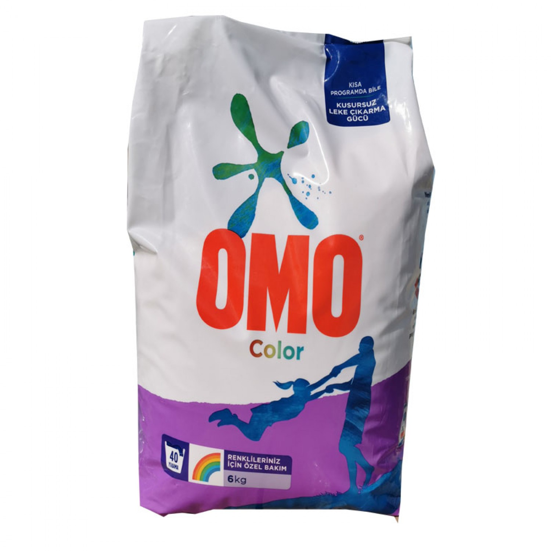 Omo прах за цветно пране, 6кг за 40 пранета
