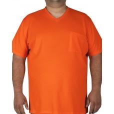 Big Shield Специална тениска за ловци или работа във външни условия, сигнално оранжево