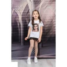 Детска рокля в бяло