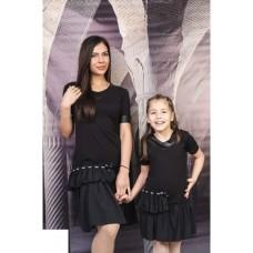 Детска рокля на волани