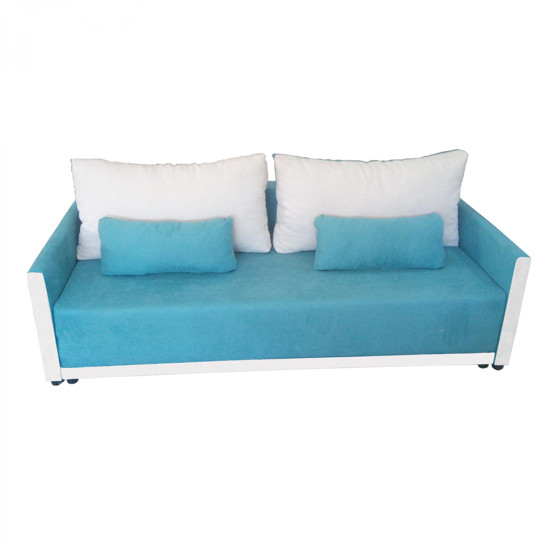 Разтегателен диван с ракла ANDOLI GeRi bl дамаска , с 2 броя големи възглавници и 2бр. малки