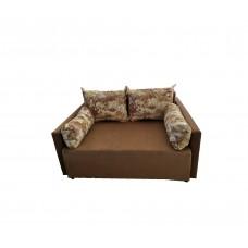 Разтегателен диван с ракла ANDOLI ERoli brown дамаска, с 2 броя големи възглавници и 2бр. малки