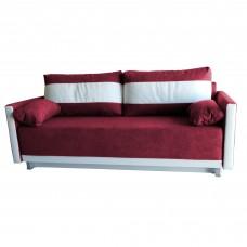 Разтегателен диван с ракла ANDOLI GeRi Red WFS дамаска , с 2 броя големи възглавници и 2бр. малки