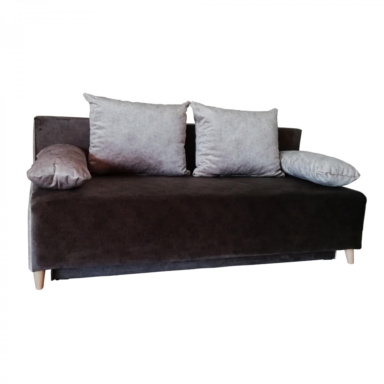 Разтегателен диван с ракла ANDOLI GALQ nova br, С 2 броя големи и 2 броя подлакътни възглавници