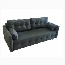 Разтегателен диван с ракла ANDOLI MAGI BL, дамаска , с 2 броя големи възглавници и 2бр. малки